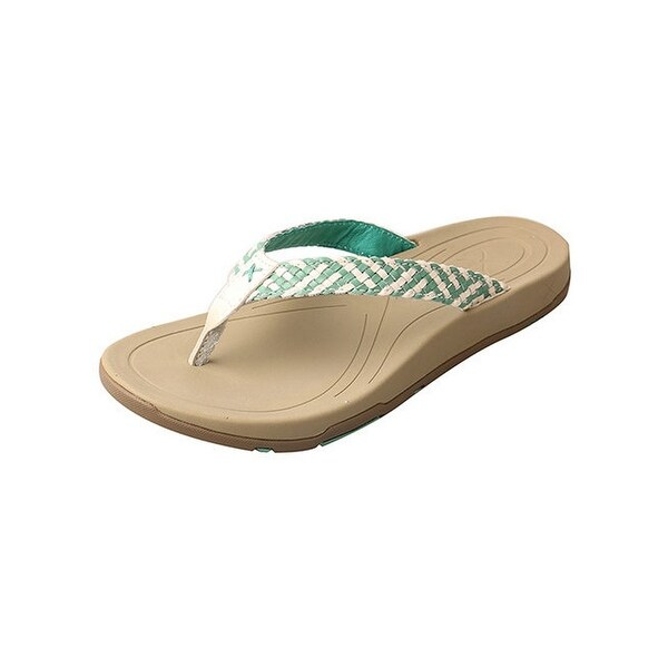 Twisted X Casual Shoes Womens Sandals Red Buckle Malachite