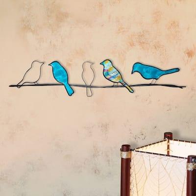 Birds On A Wire - 1 x 28.5 x 6