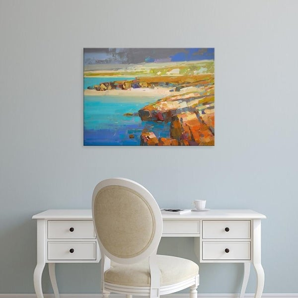 Easy Art Prints Vahe Yeremyan's 'Ocean Side' Premium Canvas Art