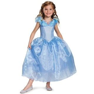 Disguise Cinderella Movie Deluxe Child Costume - Blue