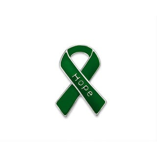 Hope Green Ribbon Pins for Cancer