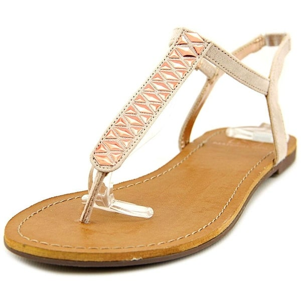 Material Girl Womens MSAGE Split Toe Casual T-Strap Sandals