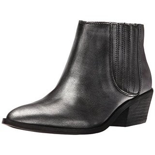 Chinese Laundry Womens Farrah Ankle Boots Leather Pointed Toe