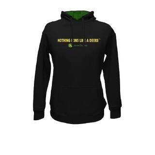 John Deere Western Sweatshirt Womens L/S Fleece Hoodie Logo 23200003|https://ak1.ostkcdn.com/images/products/is/images/direct/10f308b811b190e8c756e6122725fe6be69d0ca7/John-Deere-Western-Sweatshirt-Womens-L-S-Fleece-Hoodie-Logo-23200003.jpg?impolicy=medium