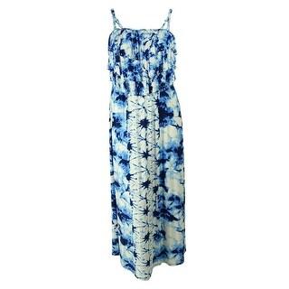 Style & Co Women's Tie Dye Maxi Dress
