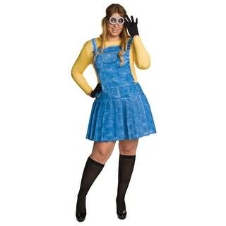 Plus Size Female Minion Costume