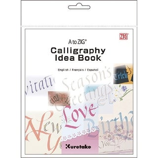 A To Zig Calligraphy Idea Book-