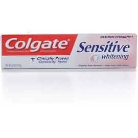 Colgate Sensitive Maximum Strength Whitening Toothpaste 6 oz