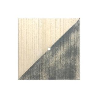 Darice Clock Face Wood Unfnshd/Distress Square