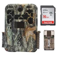 Browning Recon Force Advantage 20MP Trail Camera with 16GB Card and Reader - Camouflage
