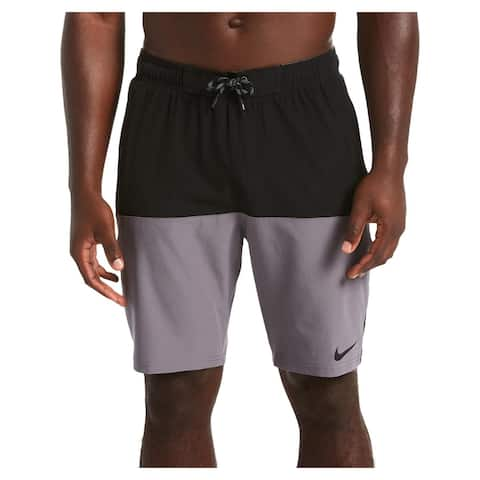 Nike Mens Colorblock Active Board Shorts - Black - XXL