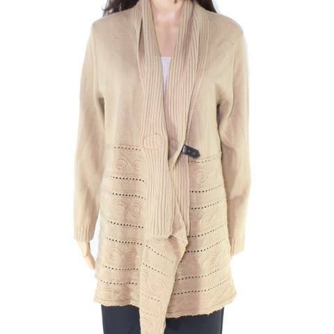 Cable & Gauge Women's Embroidered Cardigan Sweater