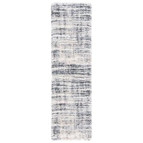 Safavieh Fontana Shag Geanina Modern Abstract 2-inch Thick Rug