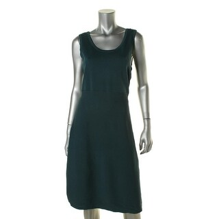 Anne Klein Womens Sleeveless Knee-Lenght Casual Dress