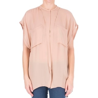 Tome Womens Silk Georgette Casual Top - M