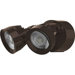 """Nuvo Lighting 65/093 2 Light 9-1/4"""" Wide Integrated LED Outdoor Dual Head Flood"""