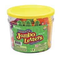 Learning Resources Jumbo Uppercase Magnetic Letters, Set of 40