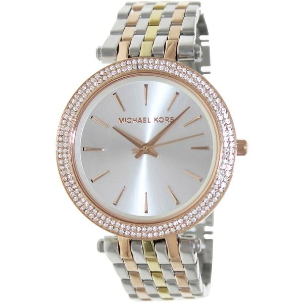 Michael Kors Women's Darci Glitz Multicolor Stainless-Steel Fashion Watch