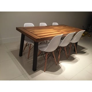 Charmant ... Sparta Acacia Wood Rectangle Dining Table By Christopher Knight Home    Brown ...
