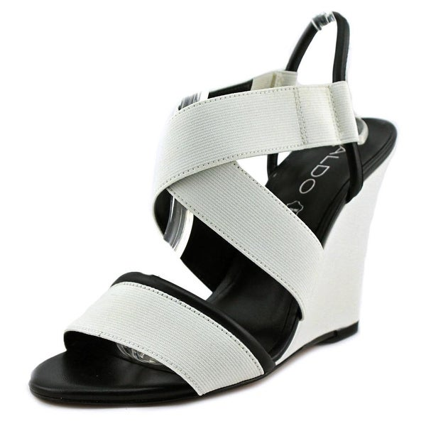 Aldo Glalle Women White Sandals