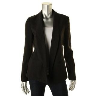 MICHAEL Michael Kors Womens Lightweight Lined Open-Front Blazer