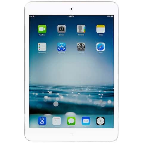 """Apple Ipad Mini 2 with Wi-Fi 7.9"""" Retina Display - 16GB - Space Grey - Silver (Refurbished)"""