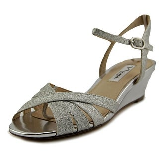 Nina Filia Women Open Toe Synthetic Sandals