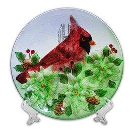 Holiday Decorative Cardinal Plate
