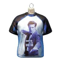 Doctor Who Glass T-Shirt Ornament, 3.5-Inch