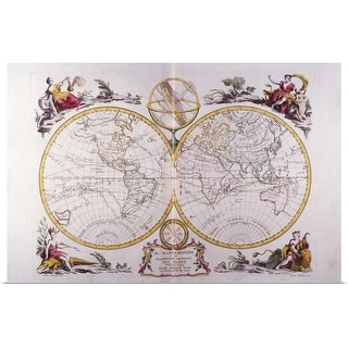 """""""Map of the World"""" Poster Print"""