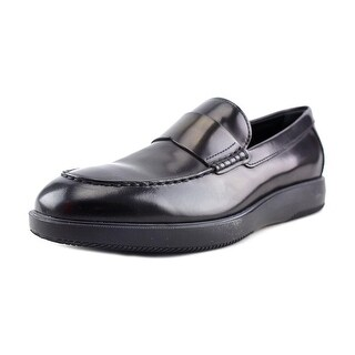 Hogan Zeppa 193 Mocassino Apron Toe Patent Leather Loafer