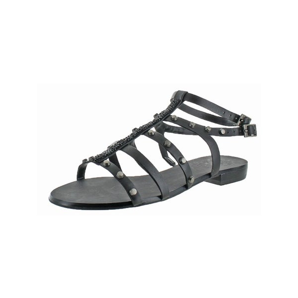 Vince Camuto Womens Jakela Gladiator Sandals Open Toe Studded - 5 medium (b,m)