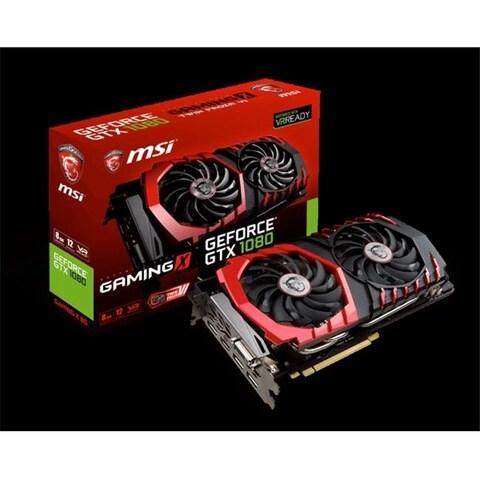 MSI Video GTX 1080 GAMING X 8G GeForce Gaming X 8 GB Video Card