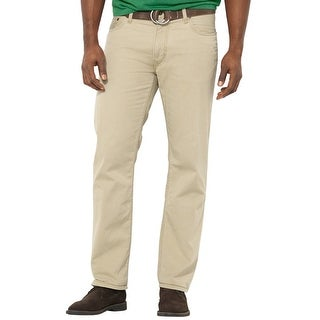Polo Ralph Lauren Big and Tall Classic Fit Cotton Chinos Pants Khaki 44B x 32 - 44