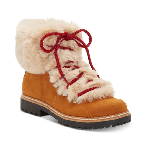 INC International Concepts Womens Pravale Fabric Round Toe Ankle Cold Weather...