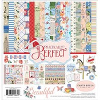 "Practically Perfect - Carta Bella Collection Kit 12""X12"""
