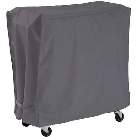 Patio Cooler Cart Cover Fits Most 80 Quart Rolling Cooler Cart Cover