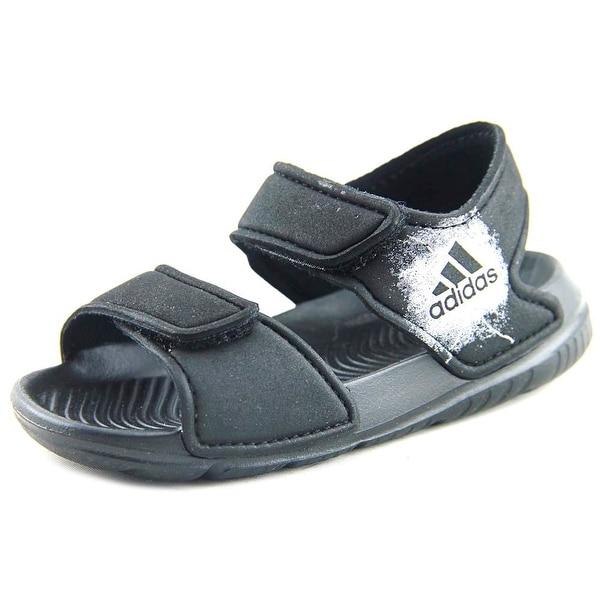 Shop Adidas Alta Swim I Toddler Open-Toe Synthetic Black ...