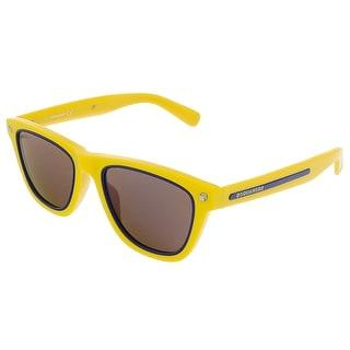 Dsquared DQ0169/S 39G Yellow/Royal Blue Wayfarer sunglasses