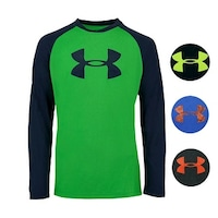 58bc23c8dc Shop Under Armour Boys' UA Tech Big Logo S/S T-Shirt - On Sale ...