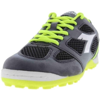 Diadora Mens Quinto 5 Faux Leather Soccer Athletic Shoes
