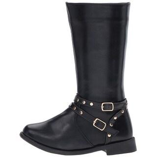 kensie Girls KG15520 Knee High Zipper Riding Boots - 11 m us little kid