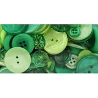 Rainforest - Button Bonanza .5Lb Assorted Buttons