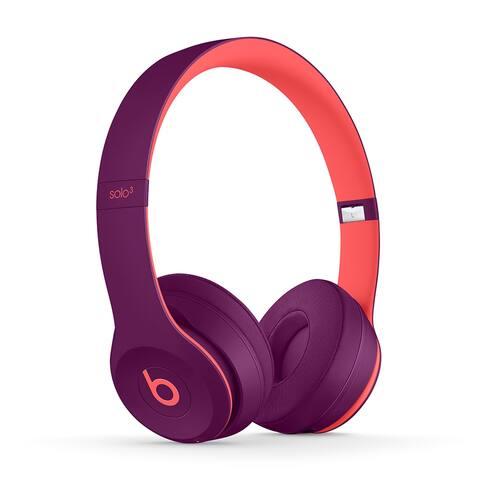 Beats Solo3 Wireless Headphones - POP MAGENTA