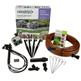 Raindrip SDGCBHP Automatic Ground Cover And Flowerbed Kit