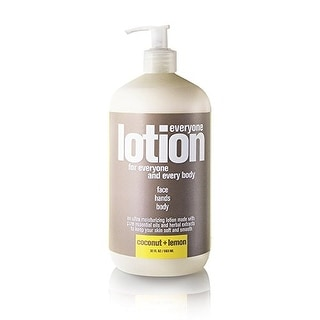 EO Everyone Lotion, Coconut plus Lemon, 32 Fl Oz