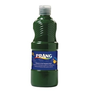 Prang Non-Toxic Ready-to-Use Liquid Tempera Paint, 1 qt Squeeze Bottle, Green