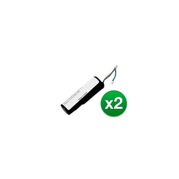 Replacement 010-10806-00 Battery f/ Garmin DC20, DC30, DC40, Astro GPS  Models (2 Pack)