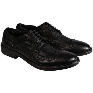 Mark Nason Mens Westward Black Leather Casual Dress Oxfords Lace Up Shoes