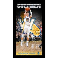 Stephen Curry Golden State Warriors Player Profile Wall Art 95x19 Framed Photo